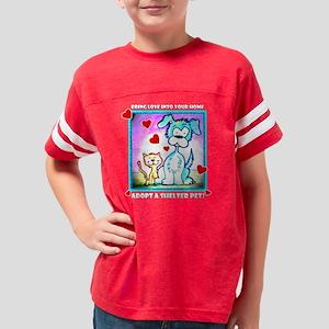 MCSPCA cartoon-transparent Youth Football Shirt