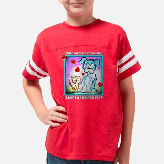 MCSPCA cartoon-transparent Youth Football Shirt