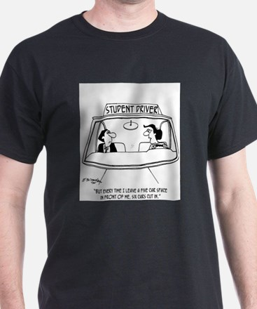 Six Cars in Five Car Space T-Shirt