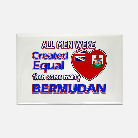 Bermudan wife designs Rectangle Magnet