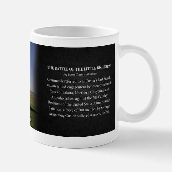 The Battle of the Little Bighorn Historical Mug Mu