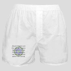 Jewish Pagans Boxer Shorts