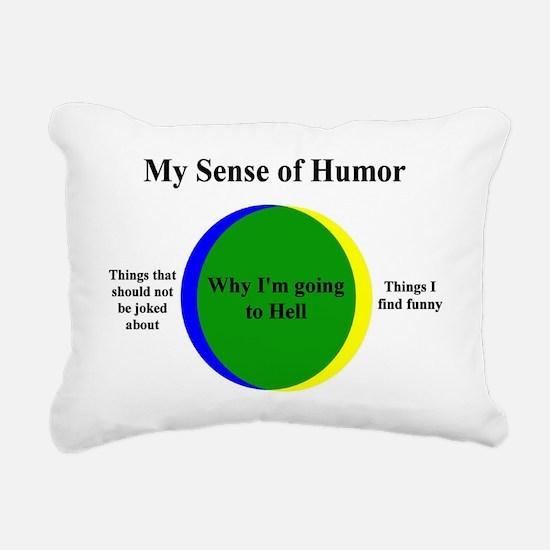 Going To Hell Rectangular Canvas Pillow