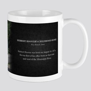 Herbert Hoover Childhood Home Historical Mug Mug