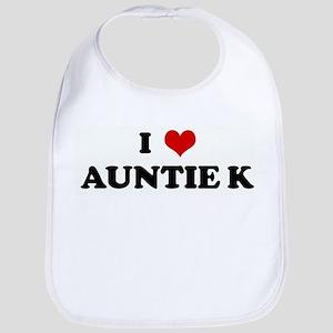 I Love AUNTIE K Bib