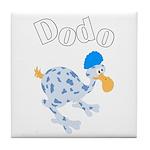 Dodo bird Tile Coaster