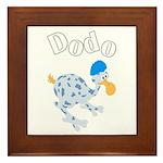 Dodo bird Framed Tile