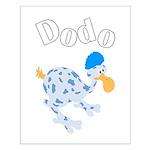 Dodo bird Small Poster