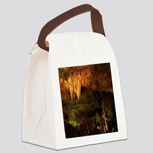 Chandelier Canvas Lunch Bag