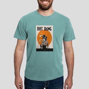Hot Dawg Bulldog Mens Comfort Colors Shirt