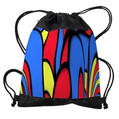 Comedy of Color Drawstring Bag