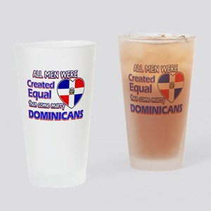 Dominican wife designs Drinking Glass