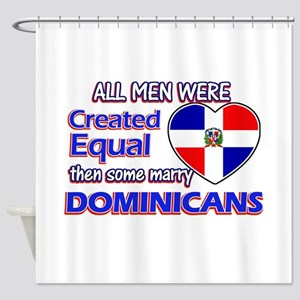 Dominican wife designs Shower Curtain