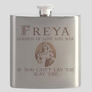 Freya Love and War Flask