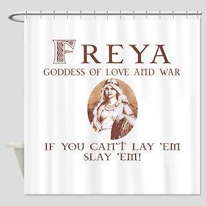 Freya Love and War Shower Curtain
