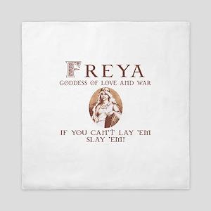 Freya Love and War Queen Duvet