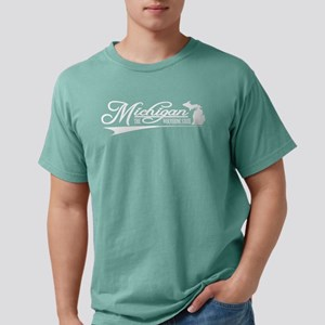 Michigan (fb) Mens Comfort Colors Shirt
