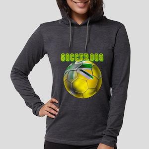 Socceroos Football Womens Hooded Shirt
