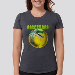 Socceroos Football Womens Tri-blend T-Shirt