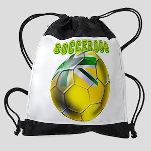 Socceroos Football Drawstring Bag