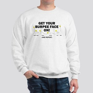 Burpee_Face Sweatshirt