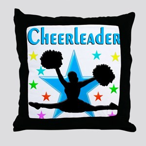 BEST CHEERLEADER Throw Pillow