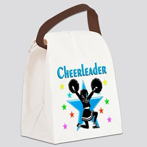 BORN TO CHEER Canvas Lunch Bag