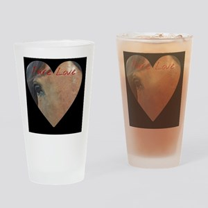 Pure Love Drinking Glass