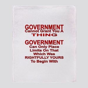 Cannot Grant You A Thing Throw Blanket