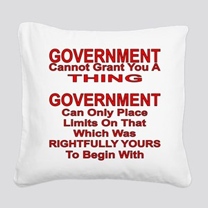 Cannot Grant You A Thing Square Canvas Pillow