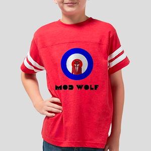modwolf2 Youth Football Shirt
