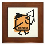 French Toast Framed Tile