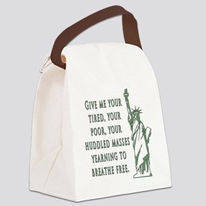 Give me your tired... Canvas Lunch Bag