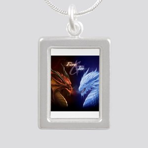 fire and ice Necklaces