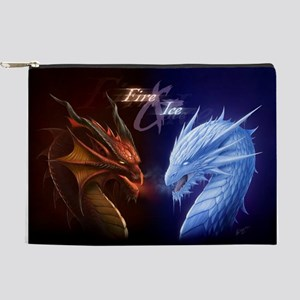 fire and ice Makeup Pouch