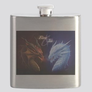 fire and ice Flask