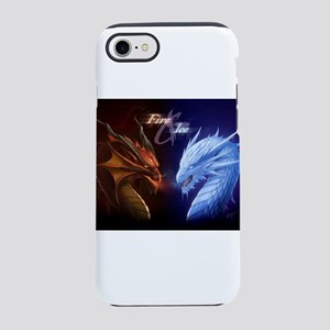 fire and ice iPhone 7 Tough Case