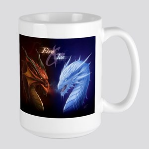 fire and ice Mugs