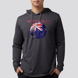 Australia Football Mens Hooded Shirt