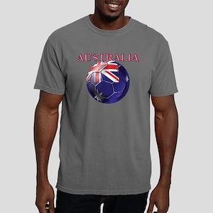 Australia Football Mens Comfort Colors Shirt
