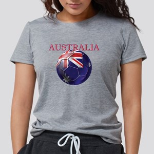 Australia Football Womens Tri-blend T-Shirt