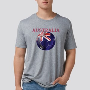Australia Football Mens Tri-blend T-Shirt