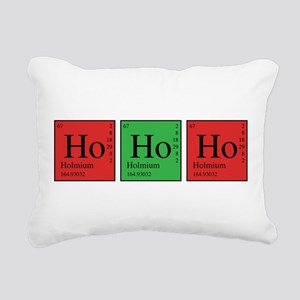 Chemistry Ho Ho Ho Rectangular Canvas Pillow