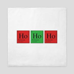 Chemistry Ho Ho Ho Queen Duvet