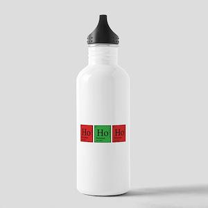Chemistry Ho Ho Ho Water Bottle