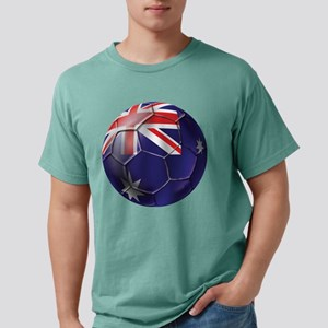 Australian Football Mens Comfort Colors Shirt
