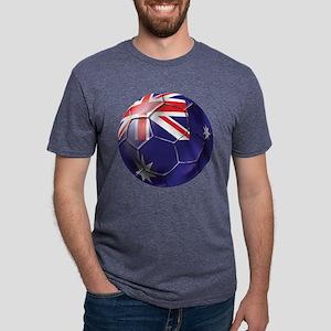 Australian Football Mens Tri-blend T-Shirt