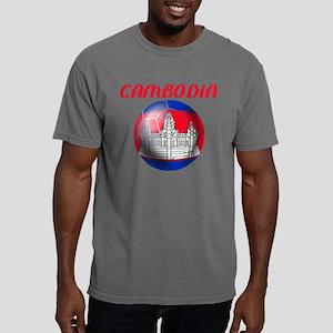 Cambodia Soccer Mens Comfort Colors Shirt