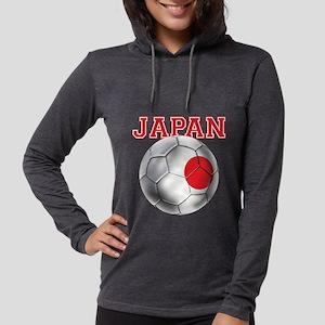 Japan Football Womens Hooded Shirt