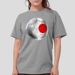 Japanese Football Womens Comfort Colors Shirt